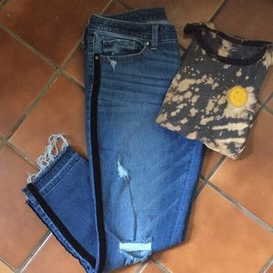 a.n.a distressed jeans